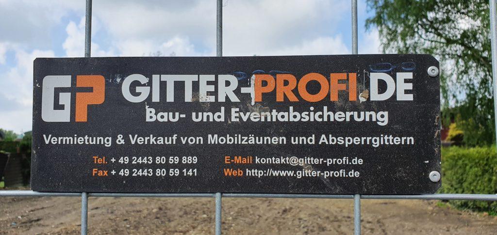Firma Gitter Profi Baustellenabsicherung Oberhausen