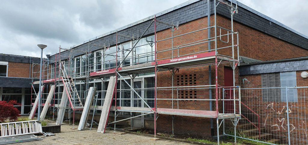 Gerüstbau Wipperfürth Umbau Sanierung Hauptschule