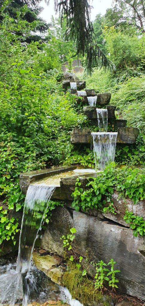 Wassertreppe Kurstadt Bad Münstereifel Garten